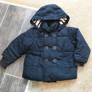 Baby Gap navy blue puffer coat size 18-24 months